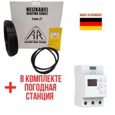 Теплый пол Arnold Rak Premium греющий кабель наружный 6106-30 1100 Вт. (36 м)