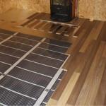 Теплый пол для деревянных домов