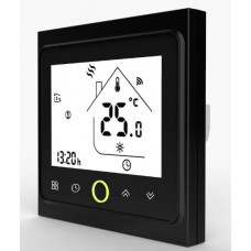 Терморегулятор сенсорный Castle TWE02 Black WiFi