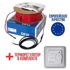 Теплый пол Deviflex Нагревательный кабель 10T 80 Вт 8м