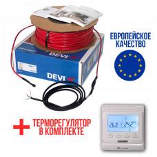 Теплый пол Deviflex Нагревательный кабель 10T 100 Вт 10м