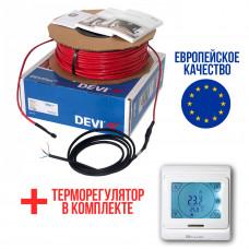 Теплый пол Deviflex Нагревательный кабель 10T 240 Вт 25м