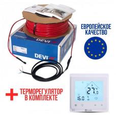 Теплый пол Deviflex Нагревательный кабель 10T 350 Вт 35м
