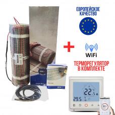 Теплый пол DEVImat тонкий нагревательный мат 200T (DTIF-200) 3.1 м2 605 Вт
