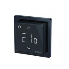 Терморегулятор сенсорный DEVIreg Smart Pure Black + 0