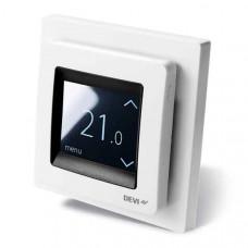 Терморегулятор сенсорный DEVIreg Touch White + 0