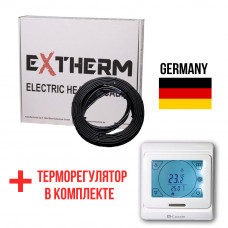 Теплый пол Extherm Нагревательный кабель ETC ECO 60 1200 Вт. (10 м)
