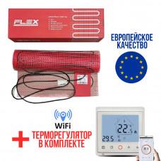 Теплый пол Flex тонкий нагревательный мат EHM-175/7 1225.0 Вт (0,5*14 м)