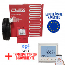 Теплый пол Flex кабель под плитку EHC-17.5 2625 Вт. (15 м2)