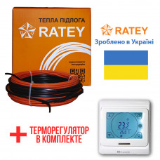 Теплый пол Ratey греющий кабель для пола RD1 1900 Вт. (106 м)