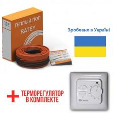 Теплый пол Ratey греющий кабель для пола RD2 340 Вт. (19.1 м)
