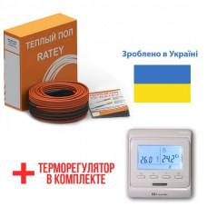 Теплый пол Ratey греющий кабель для пола RD2 1350 Вт. (75 м)