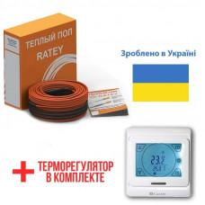 Теплый пол Ratey греющий кабель для пола RD2 1480 Вт. (83 м)
