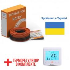 Теплый пол Ratey греющий кабель для пола RD2 2200 Вт. (121 м)