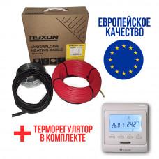 Теплый пол RYXON кабель под плитку HC-20 1000W 5 м2