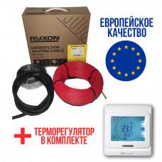 Теплый пол RYXON кабель под плитку  HC-20 1600W 8 м2