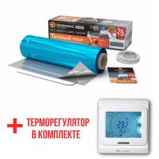 Теплый пол Teploluxe Alumia теплые маты на фольге 675Вт 4.5 м2