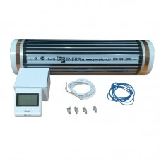Теплый пол пленочный инфракрасный Enerpia с терморегулятором Castle E53 4 м2
