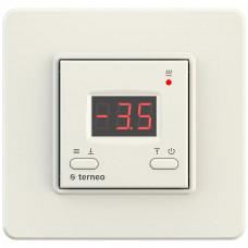 Терморегулятор Terneo kt unic для снеготаяния Ivory + 0
