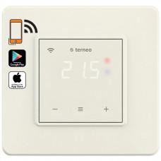 Терморегулятор сенсорный Terneo sx Ivory + 0